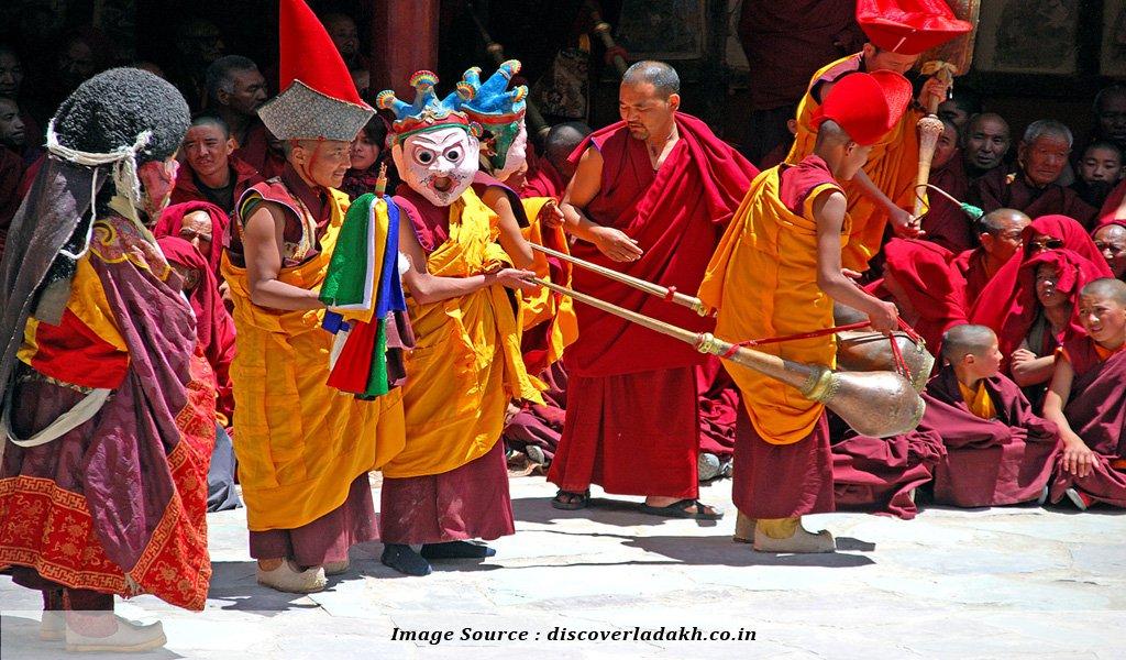 Hemis Festival : Festivals of India