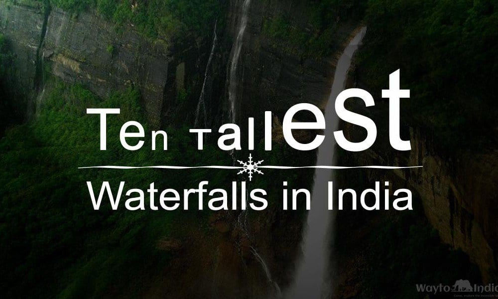 10 tallest waterfall in India