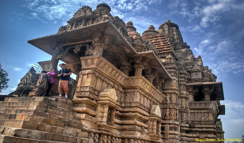 Khajuraho : most visited places in india by foreign tourists