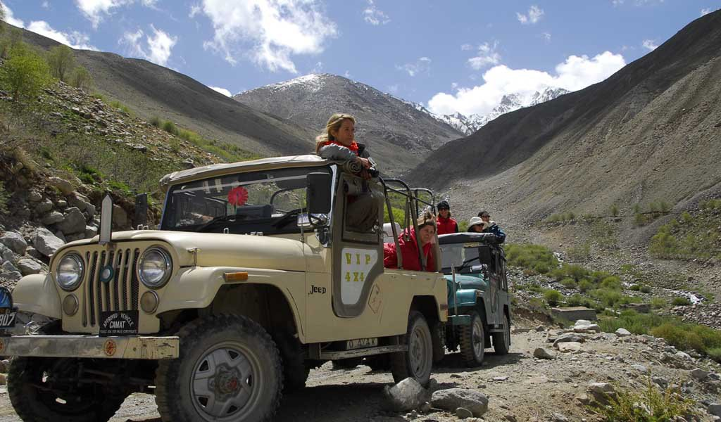Road trips in India : Old Silk Route