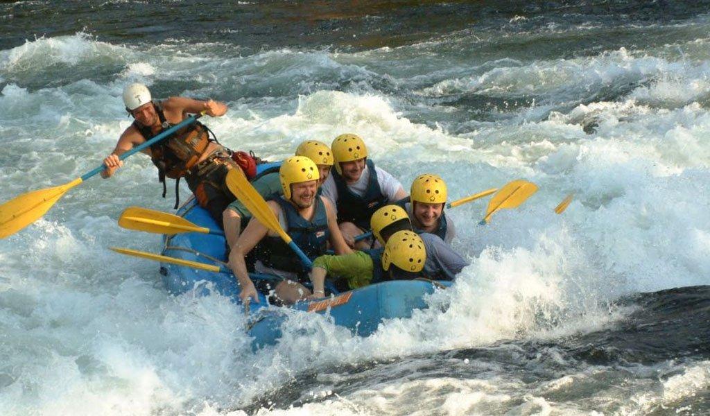 River Rafting in India : Bhagirathi River