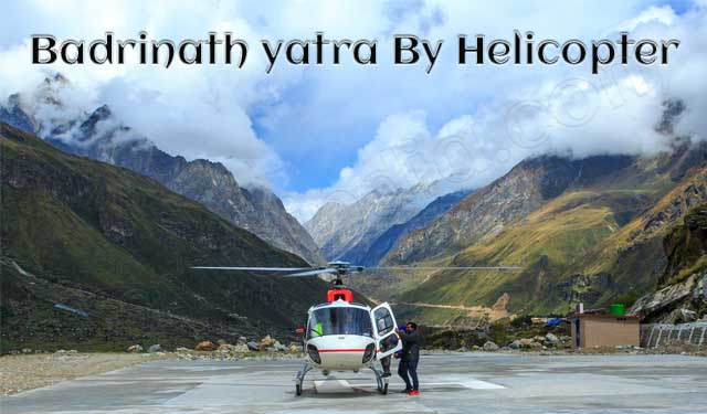 Badrinath Helicopter Service
