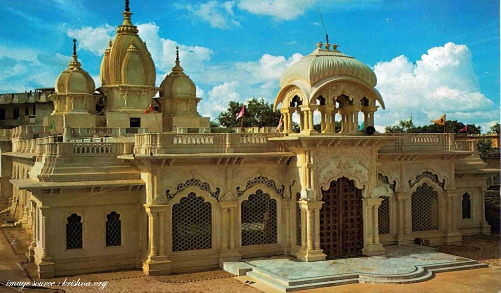 famous hindu religious places in india Vrindavan--Land-of-Krishna