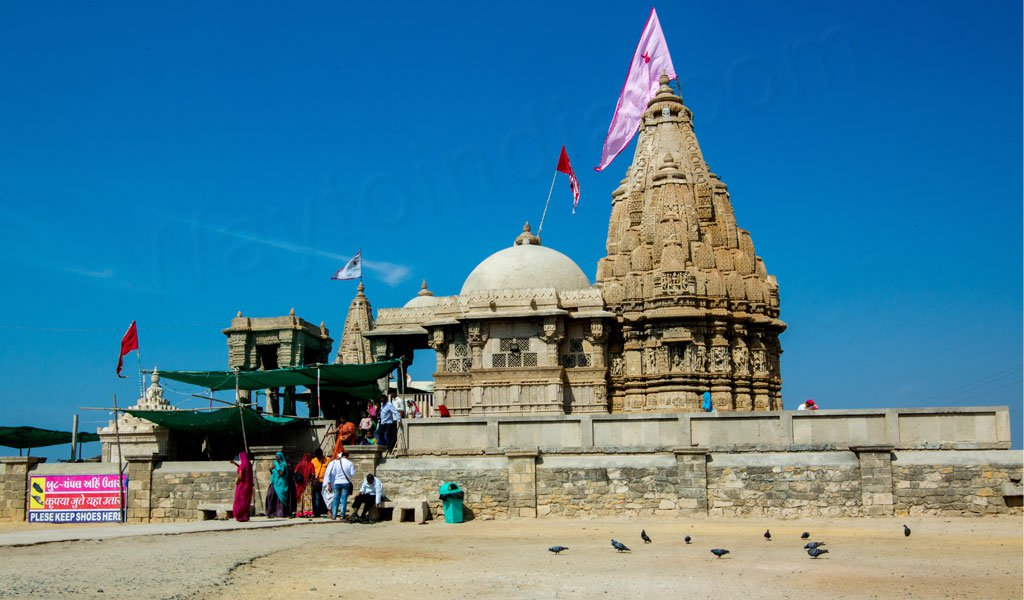 Rukmini Temple during Somnath Dwarka Tour Package
