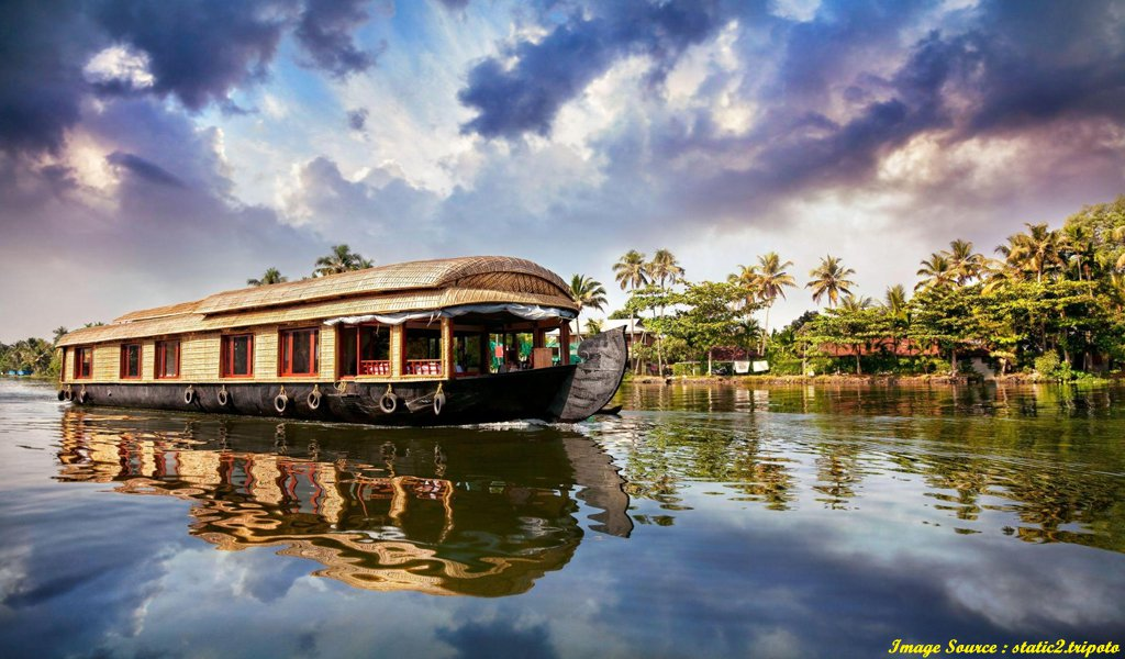 Best Honeymoon Places In India : Alleppey