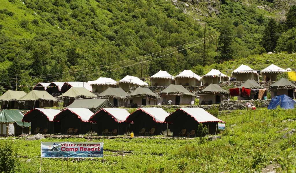 Ghangaria Hotels