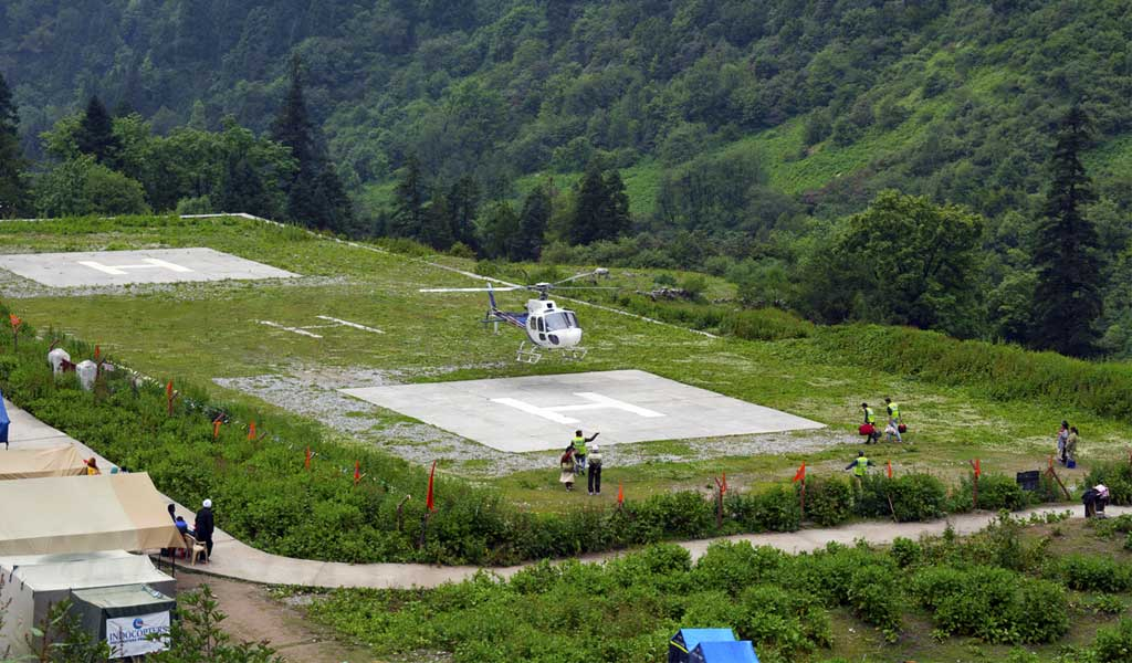 Hemkund Sahib Yatra By Helicopter