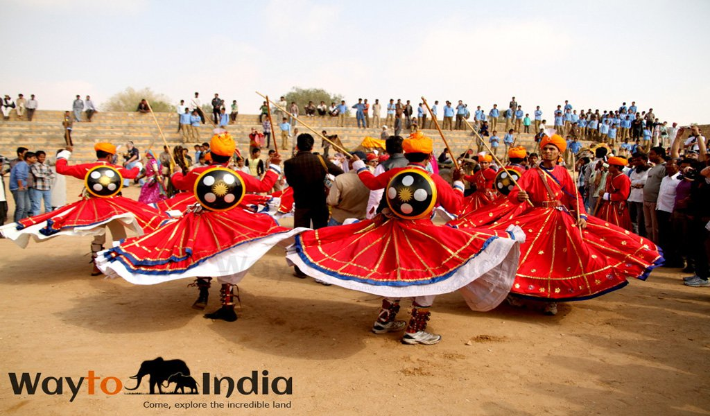 Jaisalmer Desert Festival : Festivals of India