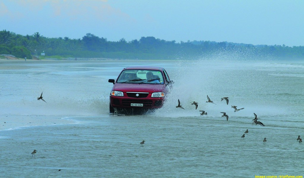 Drive In Beach India