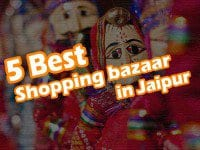 5 best bazaar in Jaipur
