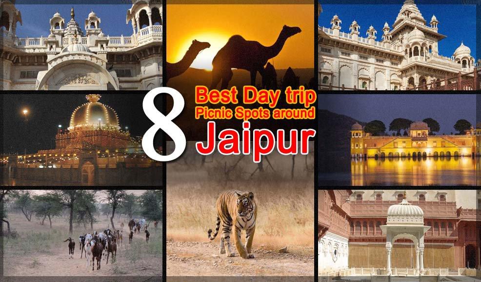 8 Best Day trip picnic spot around Jaipur