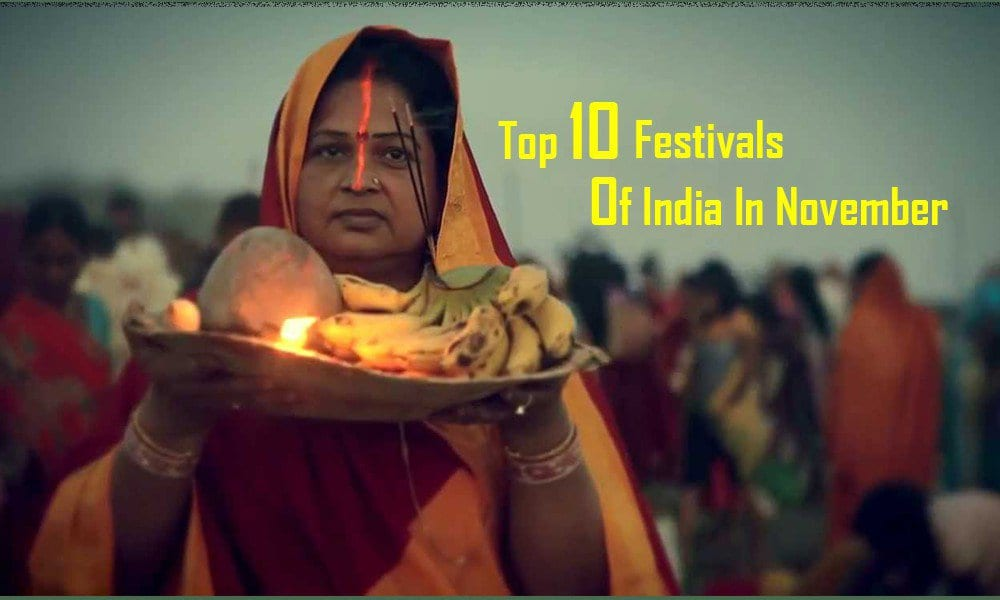 Top 10 Festivals Of India In November