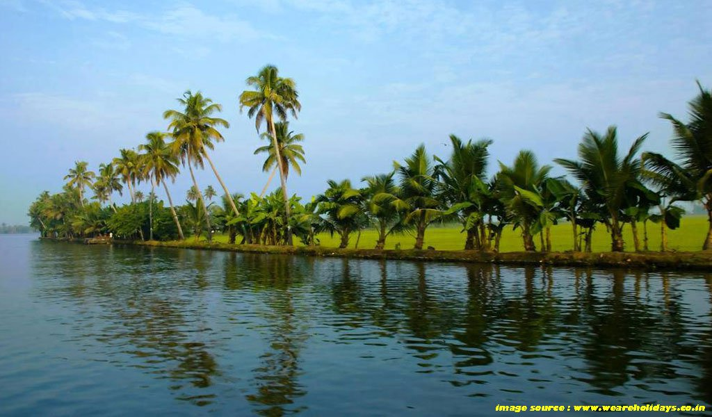 Best Places To Visit In Kerala : Alleppey
