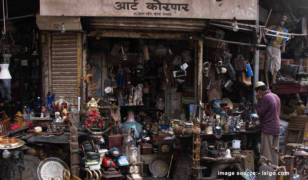 Shopping Places in Mumbai  : Choor Bazaar Mumbai