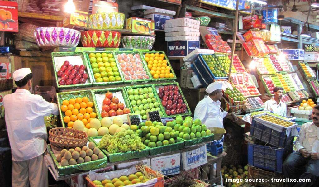 Shopping Places in Mumbai : Crawford Market