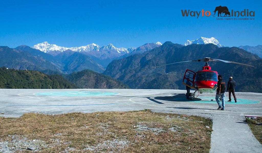 Kedarnath Helicopter