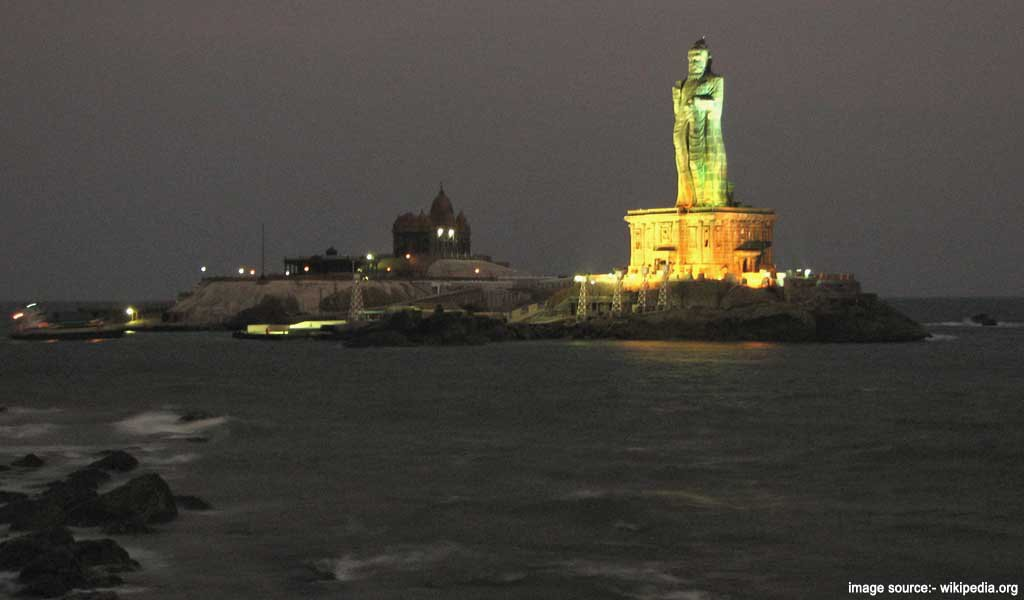 Famous Pilgrimage Places in South India : Kanyakumari
