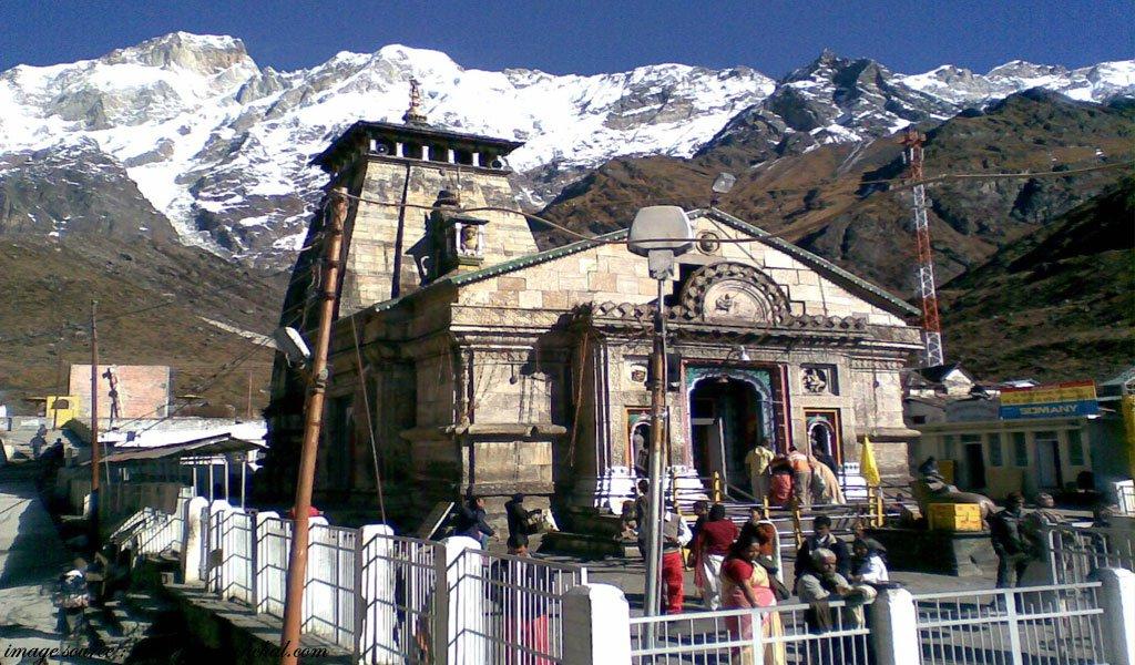 famous hindu religious places in india Kedarnath-Shrine