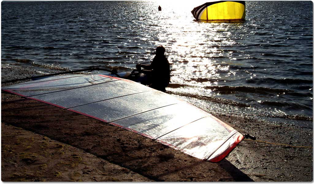 Kite Surfing in Lakshdweep