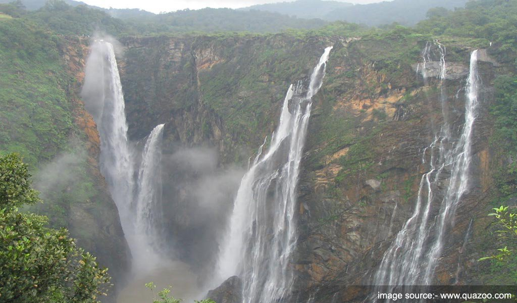 Kunchikal Falls, Karnataka : tallest waterfalls in India