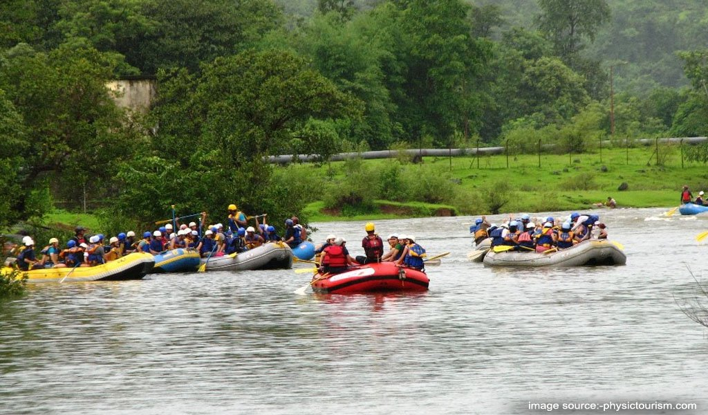 River Rafting In India : Kundalika River Rafting, Kolad