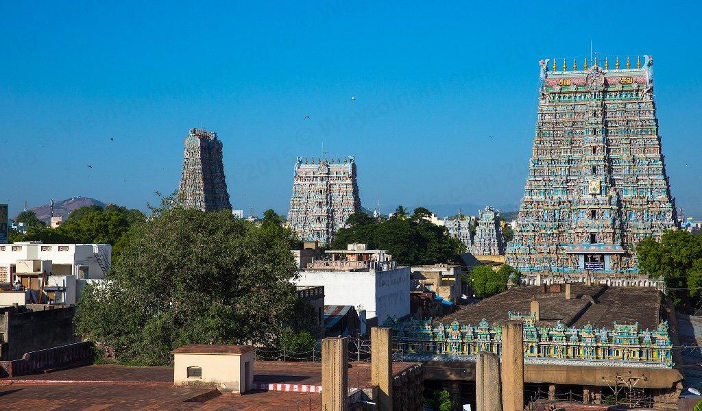 Rameshwar Tour : Meenakshi Amman Temple