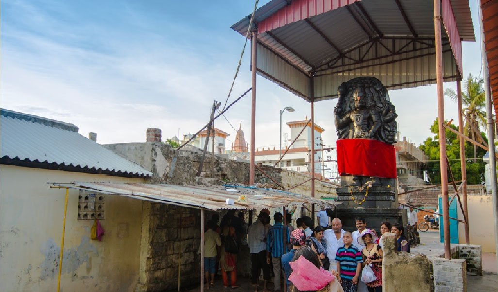 Panch Mukhi Hanuman Idol at Rameshwaram