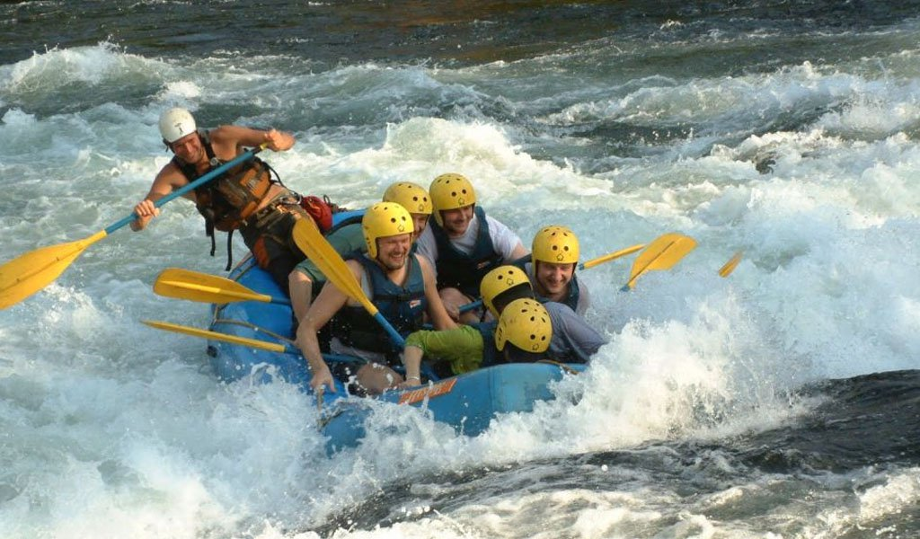 River Rafting in India : Bhagirathi River