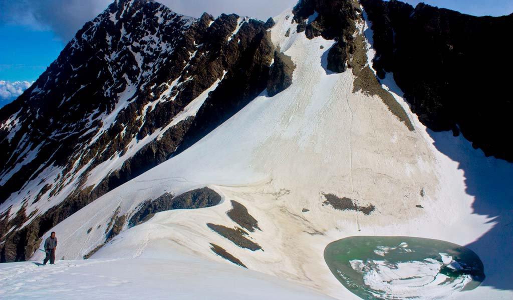 Frozen RoopKund Uttarakhand