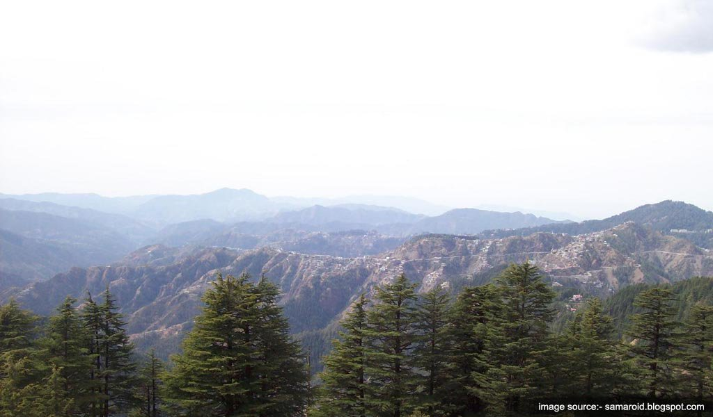Tourist Places Near Shimla : The Prospect Hill Shimla