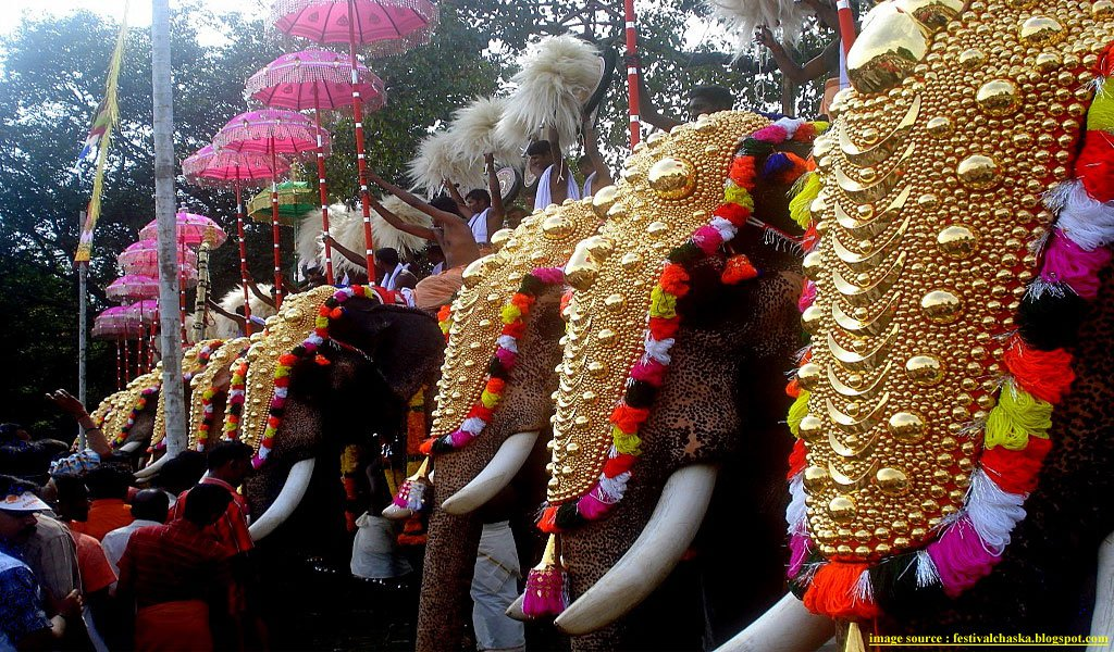 10 Most Famous Festivals Of Kerala