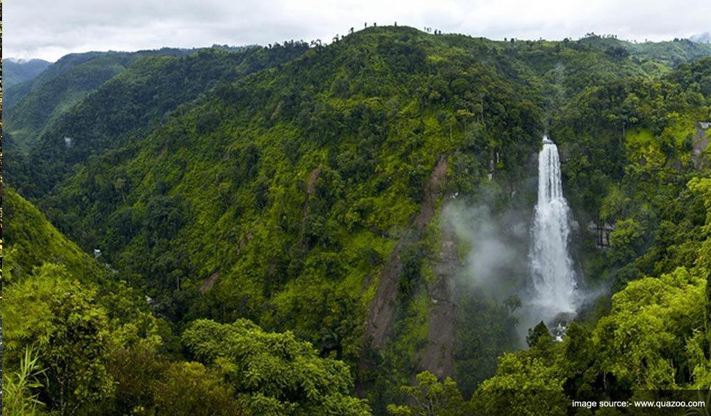 VANTAWNG Waterfall : waterfalls in India