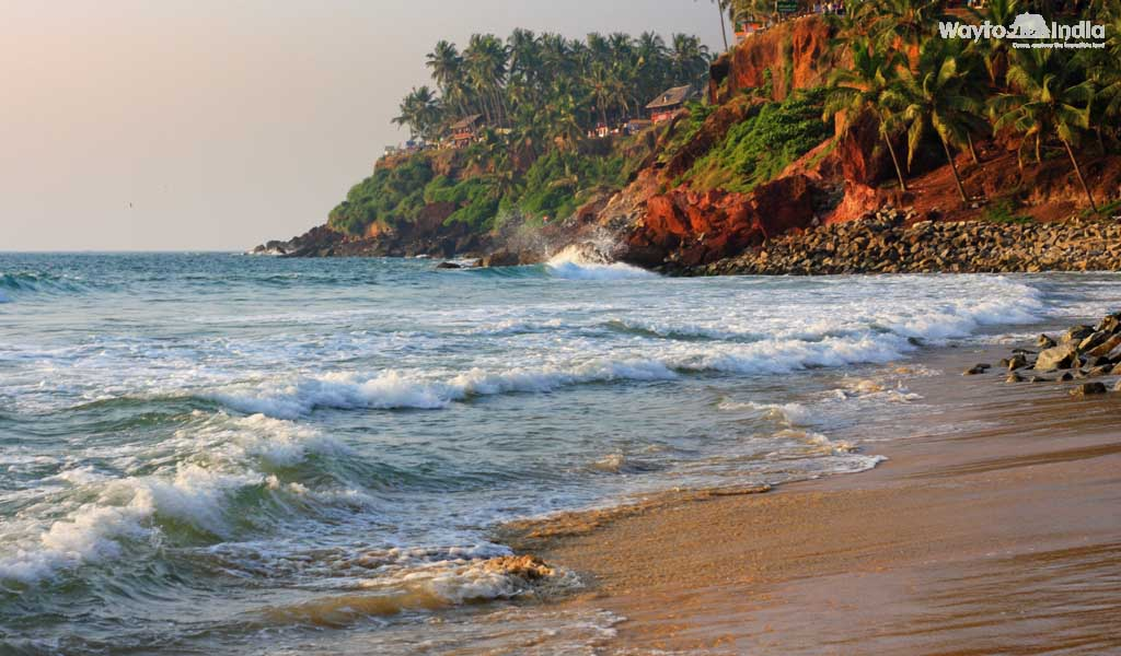 Varkala Beach, Kerala : Beach Holiday Destinations in India