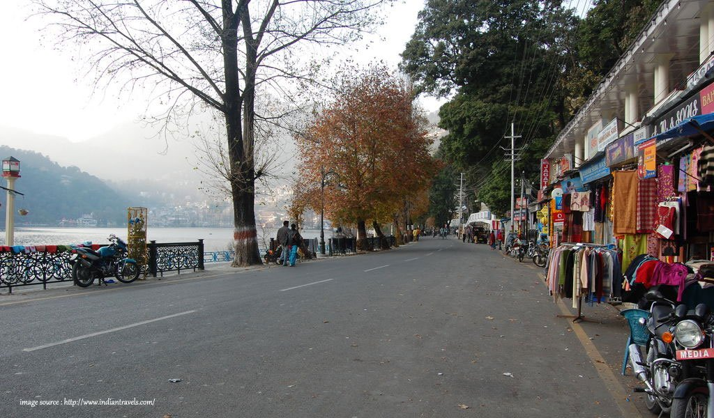 10 Most Colourful Bazaars in India : Bohita bazaar Nainital
