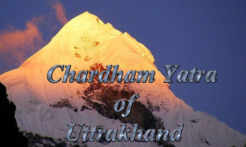 Chardham yatra of Uttrakhand