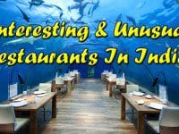unusual restaurants in india