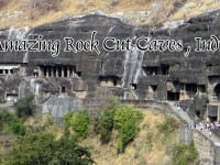 rock cut caves india
