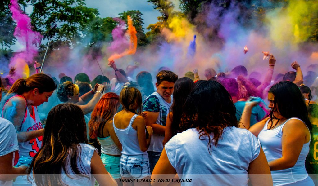 Holi : Top Festivals of India