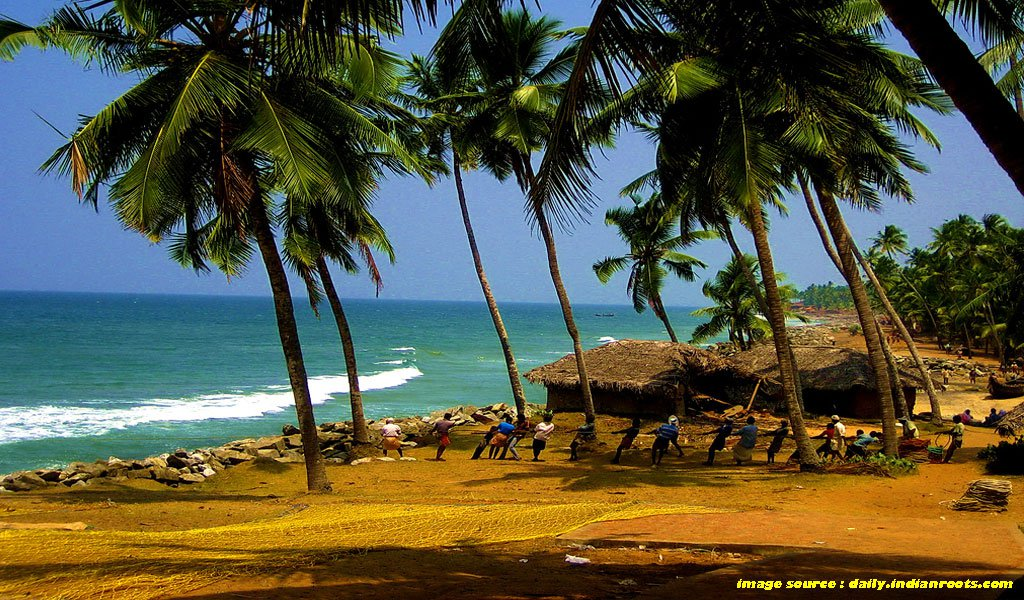 Best Places To Visit In Kerala : Kovlam