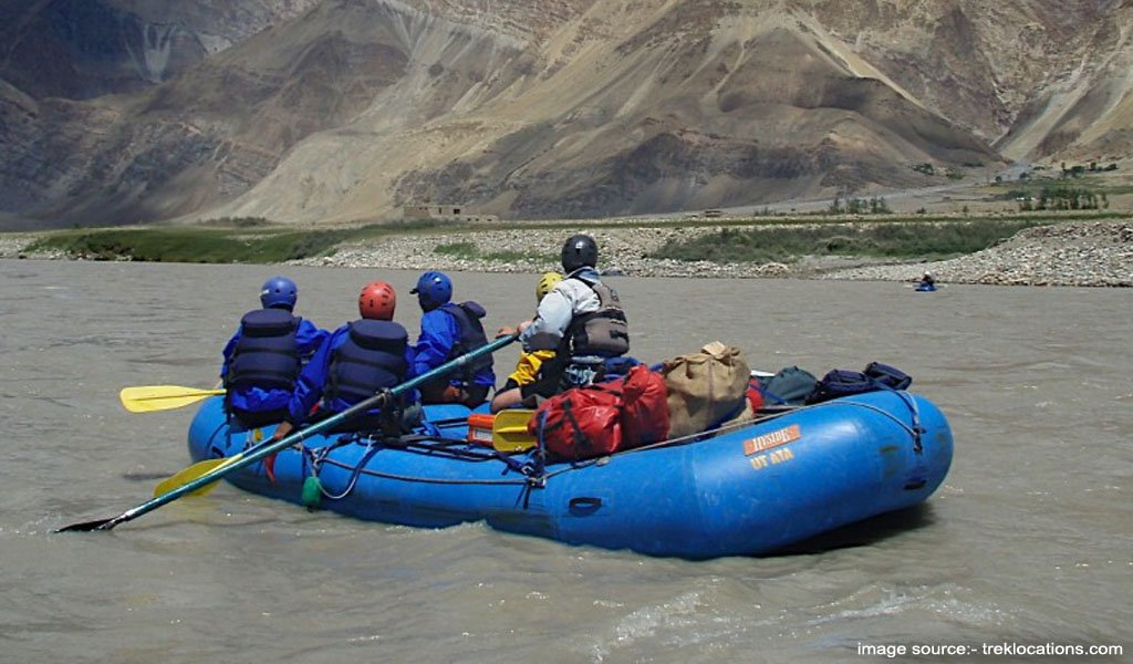 River Rafting In India : Ladakh