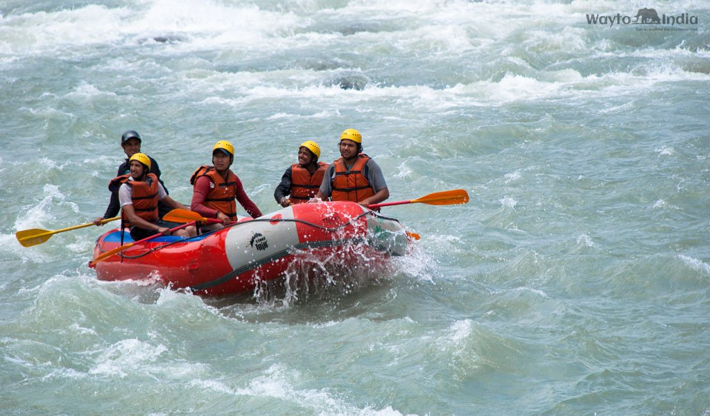 River Rafting in India : Rishikesh