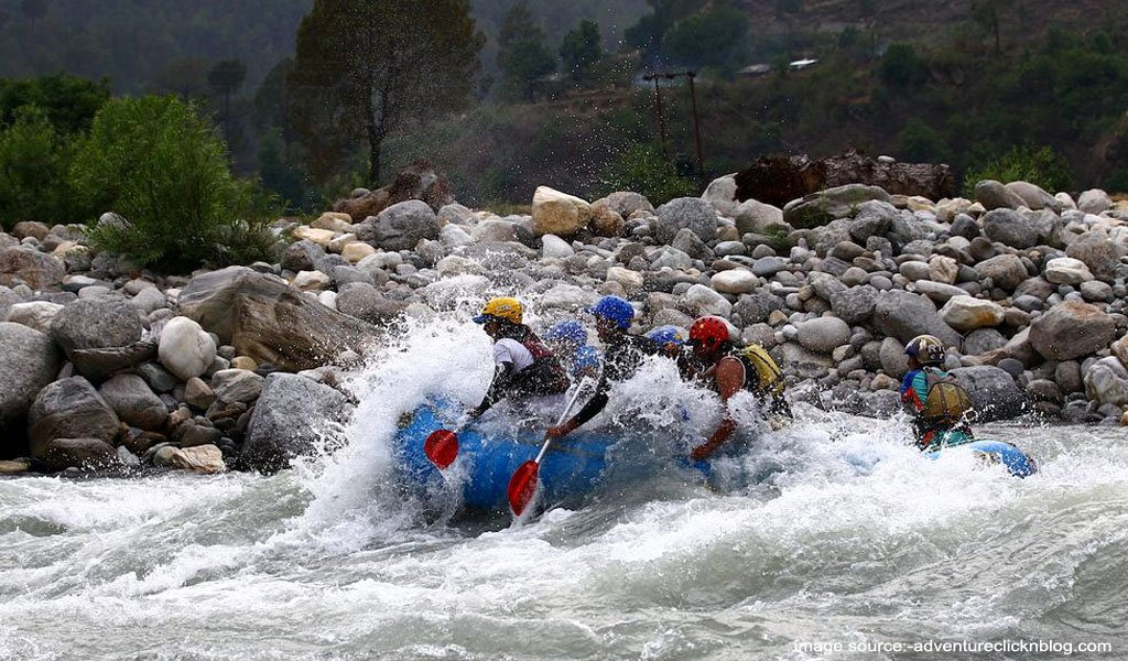 River Rafting In India : Tons River, Uttarakhand