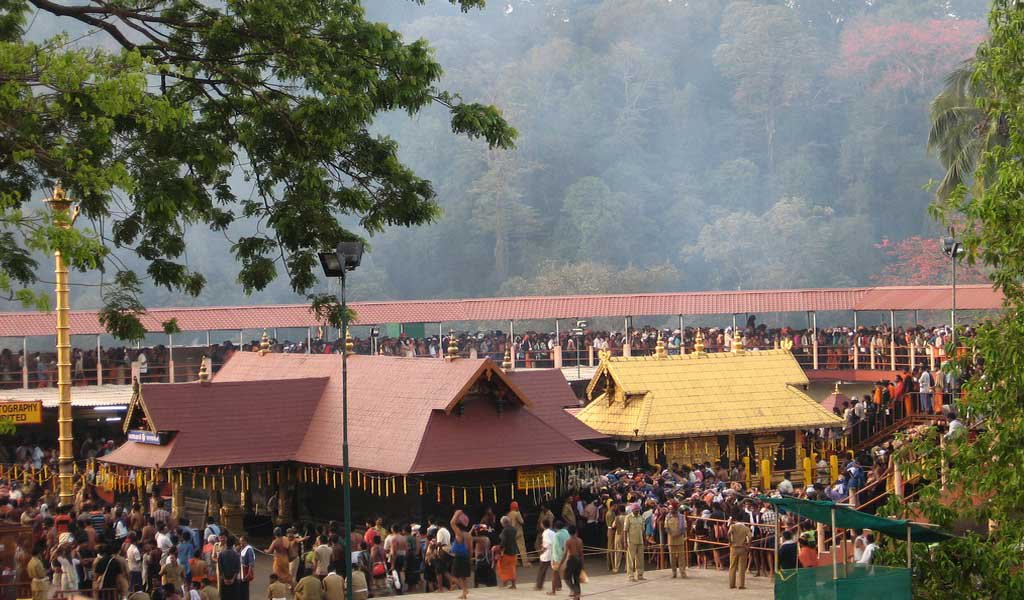 Famous Pilgrimage Places in South India : Sabarimala Temple